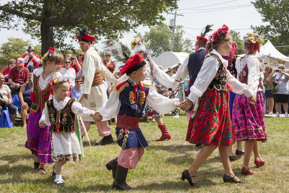 The 40th annual Polish Town Fair was held Saturday. (Credit: Katharine Schroeder)