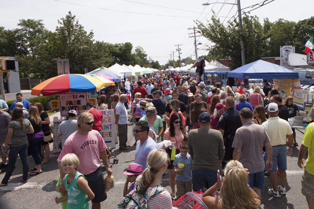 Last year's Polish Town Fair in Riverhead. (Credit: Katharine Schroeder)