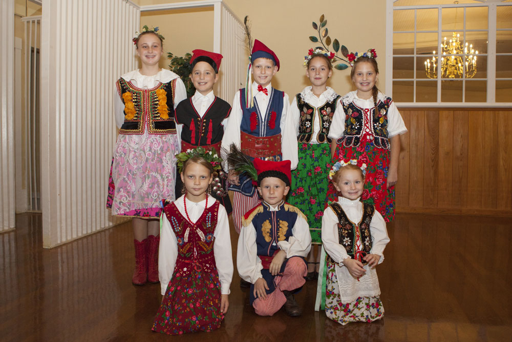 Riverhead's Kolbe Polish Dance Troupe.
