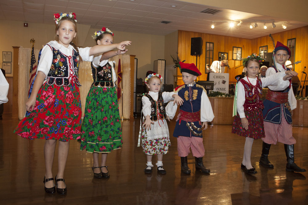 Kolbe dancers perform.