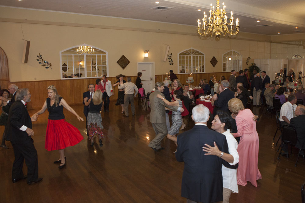 Dancing at Polish Hall.