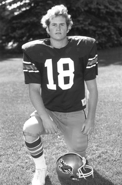 UNIVERSITY OF WYOMING ATHLETICS PHOTO | Rick Donnelly ended up back in Wyoming after his playing days in the NFL ended.