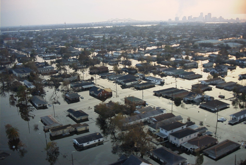 When The Levees Broke 106th Came To Rescue