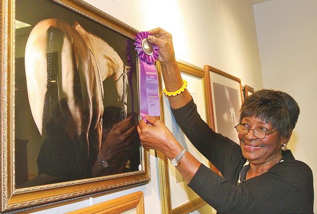 Friends of the Library Photo Show chairwoman Thelma Booker in 2014. (Credit: Barbaraellen Koch, file)