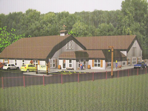 COURTESY DRAWING  |  A rendering from 2013 of what the new Kent Animal Shelter will look like.