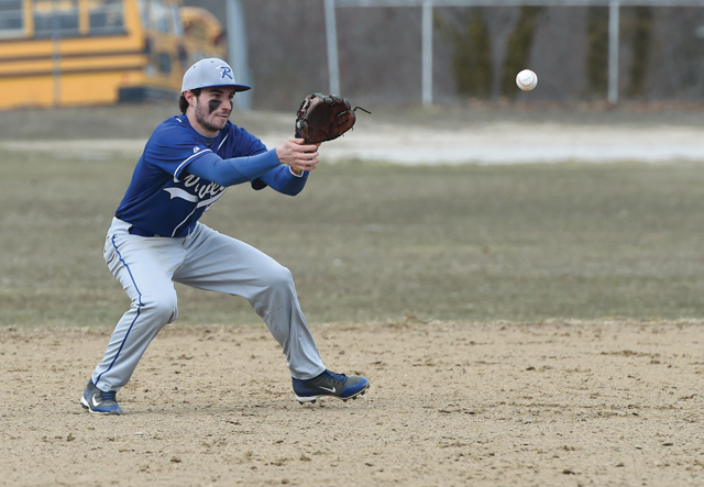 In high school, Jesse was a four-year varsity player and played shortstop for three seasons for the Blue Waves. (Credit: Robert O'Rourk, file)