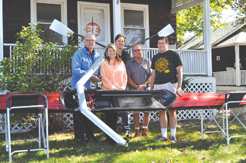 East End Rowing paddles into downtown Riverhead