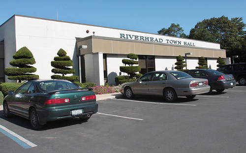 NEWS-REVIEW FILE PHOTO | Riverhead Town Hall on Howell Avenue.