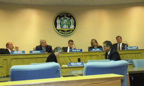 Riverhead Town Board, Riverhead Town Hall,