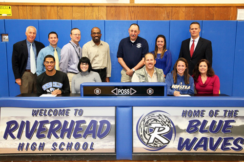 Greenidge, Carrera sign letters of intent for lacrosse