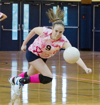Emma Houlihan, Shoreham-Wading River girls volleyball