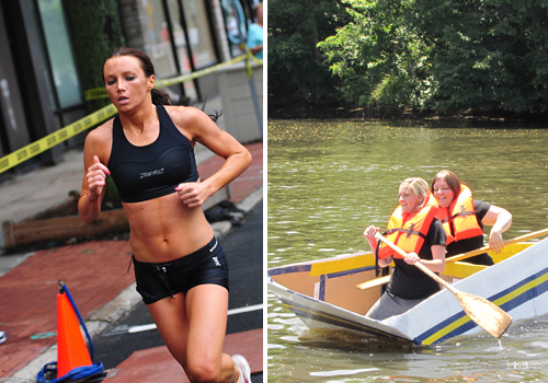 The Riverhead Rocks Triathlon and Cardboard Boat Race will be held the same weekend this summer.