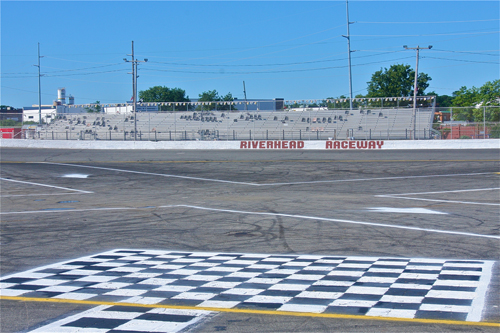 A view of Riverhead Raceway. (Credit: Barbaraellen Koch)