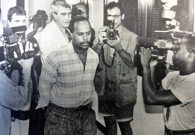 Raymond Dennis Smith was convicted of arson  and murder following Riverhead's 'deadliest fire.' He was arrested 20 years ago this week.