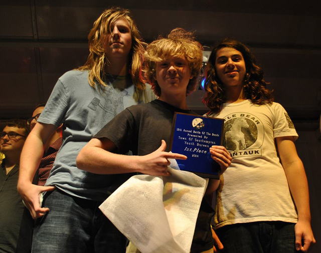 Red Tide won the Southampton Youth Bureau Battle of the Bands. (Credit: Southampton Youth Bureau courtesy)