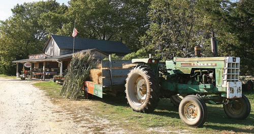 The Reeve Farm's farmstand on Sound Avenue in Riverhead. (Credit: Barbaraellen Koch, file)