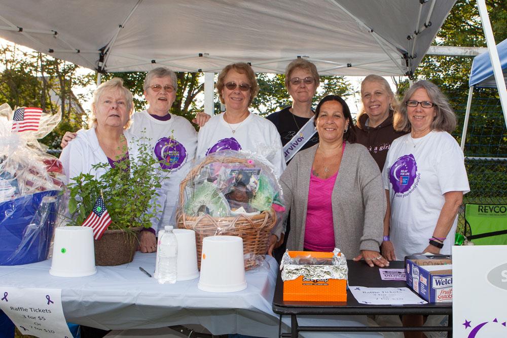 The Friends Against Cancer team. (Credit: Katharine Schroeder)