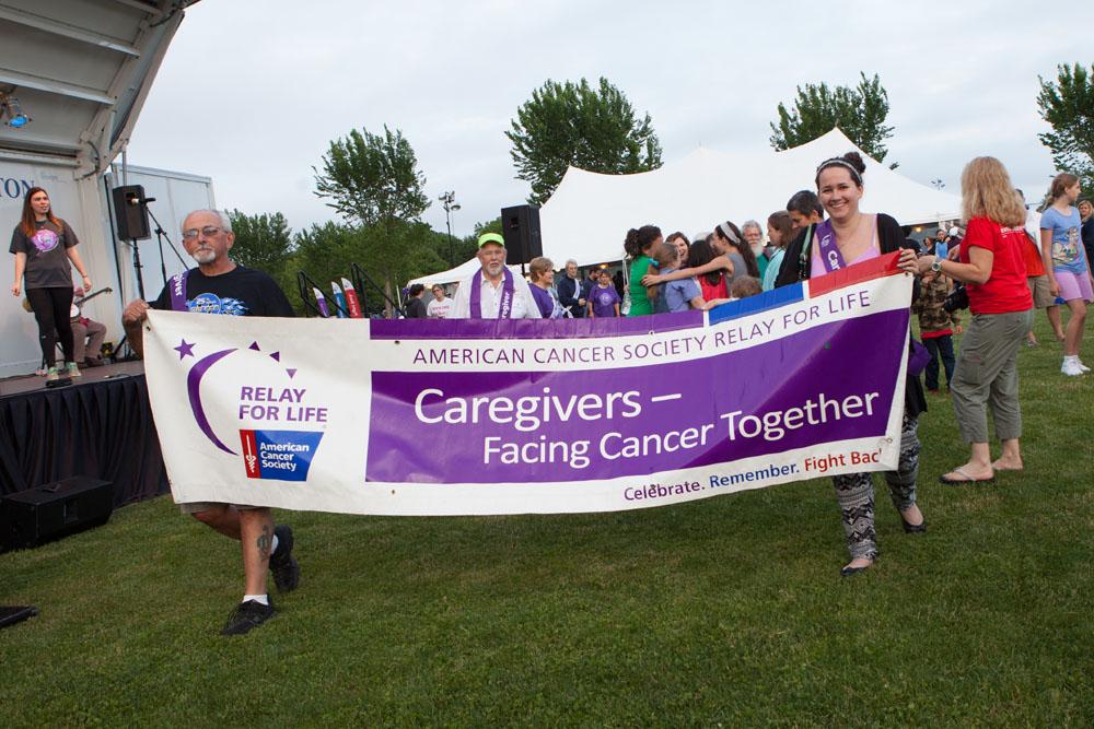 Caregivers walk. (Credit: Katharine Schroeder)