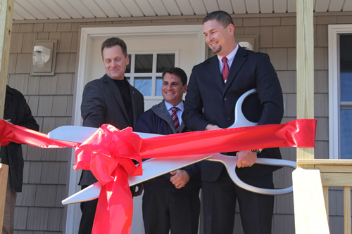 JENNIFER GUSTAVSON PHOTO | A 24-hour support facility for homeless youths opened Monday in Riverhead.