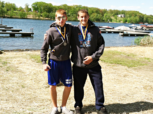 Video: Riverhead rowing team wins four medals at states
