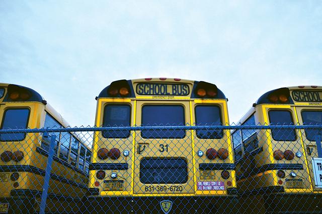 Riverhead School District bus