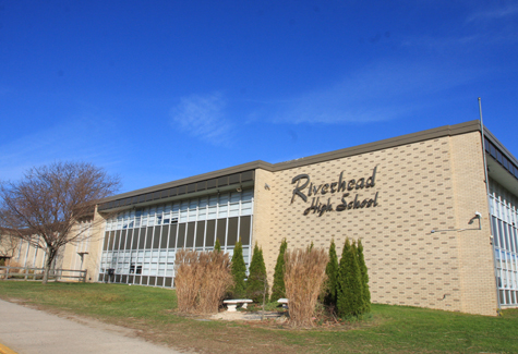 BARBARAELLEN KOCH FILE PHOTO | The Riverhead School District's $78.3 million bond project approved by voters in 2011 remains on schedule with the exception of the high school, planning consultants said at Tuesday night.