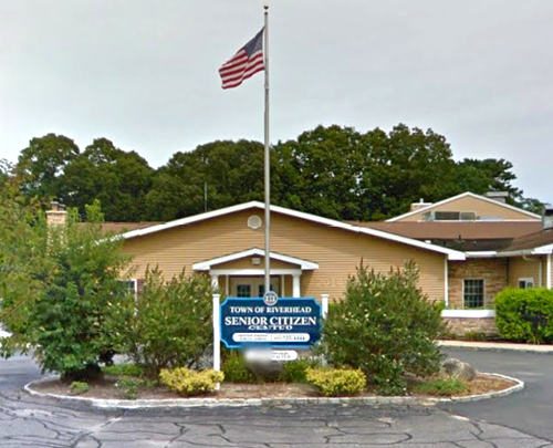 Riverhead Town Senior Center in Aquebogue. (Credit: Google Maps image)