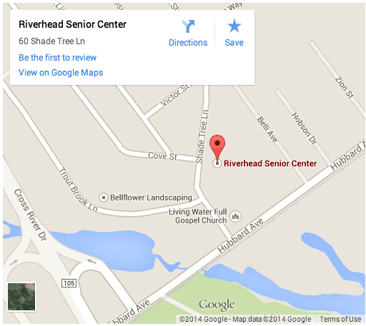 Riverhead Senior center mao