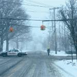 Osborn Avenue in Riverhead. (Credit: Barbaraellen Koch)