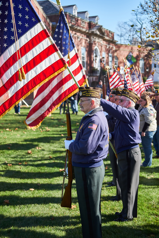Riverhead Veterans Day-1