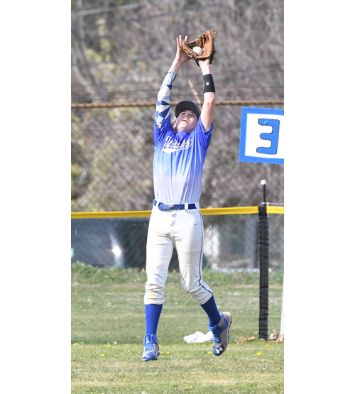 Riverhead baseball player Tom Powers 042216