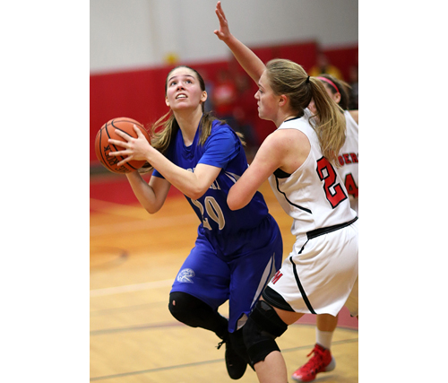 Riverhead basketball player Mary Reiter 123015