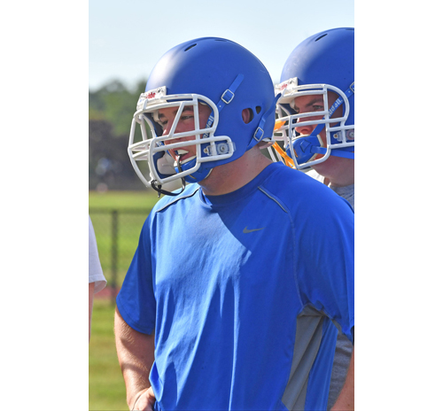 Riverhead football player John Anderson 081516
