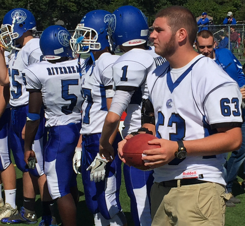 Riverhead football player John Anderson 100516