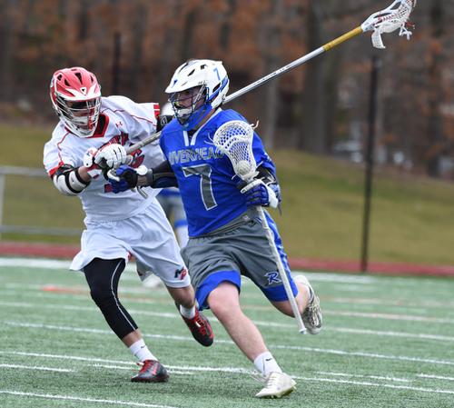 Riverhead lacrosse player Blake Carrara 032616