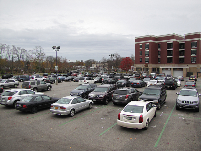 Downtown Riverhead parking