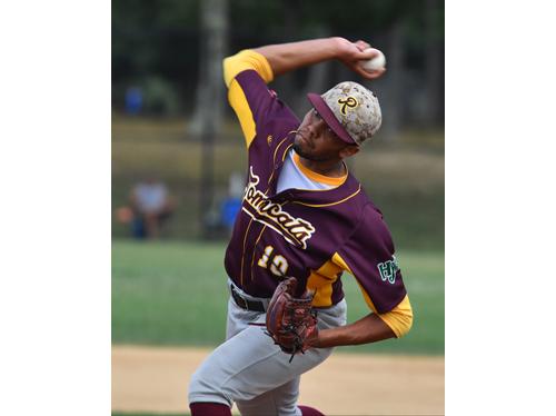 Riverhead pitcher Nick Morena 073116