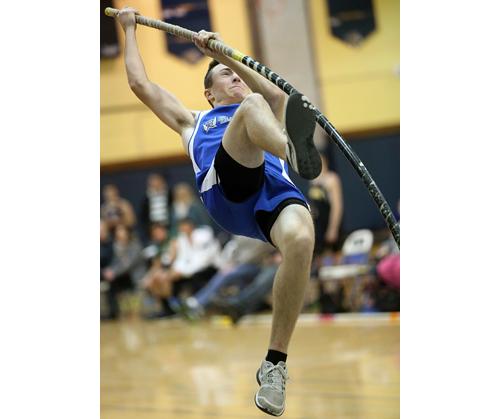 Riverhead pole vaulter Kyle Gevinski 021517