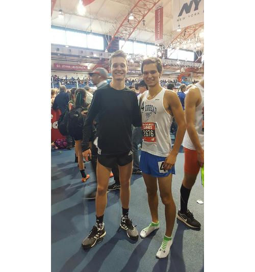 Riverhead runner Eric Cunha 012317