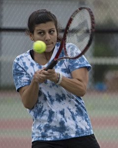 ROBERT O'ROURK PHOTO | Riverhead junior Lydia Keiffert is the favorite to play first singles.