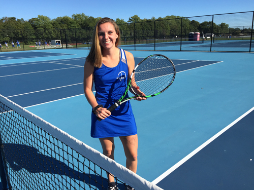 Riverhead tennis player Taylor Marelli 101016