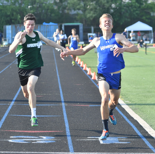 Riverhead track athlete Luke Coulter 052516