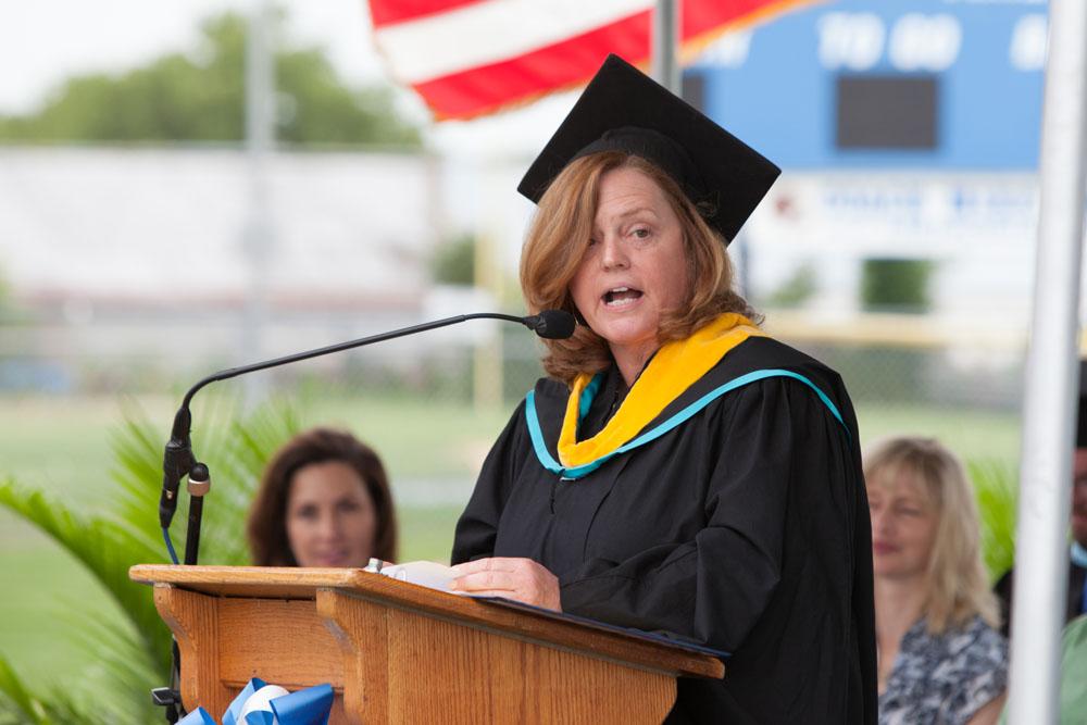 Nancy Carney, Superintendent of Schools.