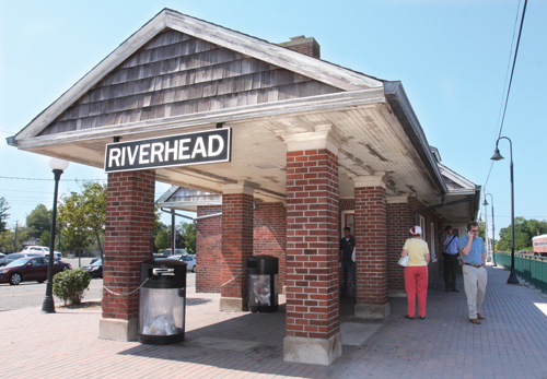 The Riverhead Train Station will be leased out to Islandwide Transportation starting next month. (Credit: Barbaraellen Koch)