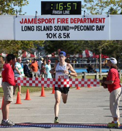 Michael McShane of Laurel was the winner of the Sound to Bay 5K last year. (Credit: Daniel De Mato)