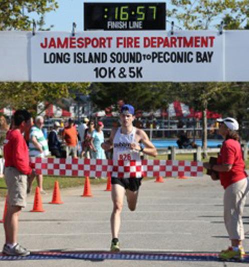 Michael McShane of Laurel was the winner of the Sound to Bay 5K last year. (Credit: Daniel De Mato)