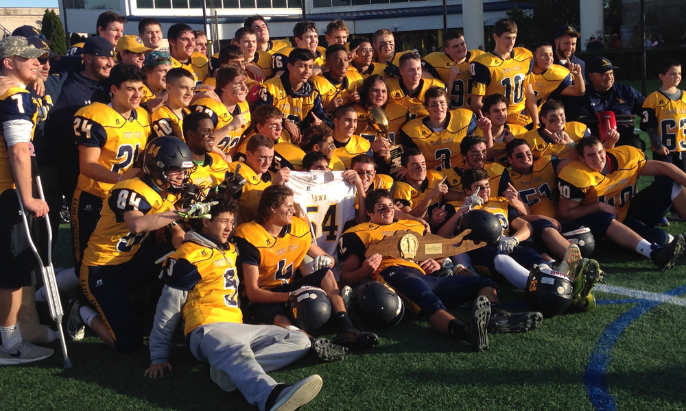 SWR football Long Island champions 2015