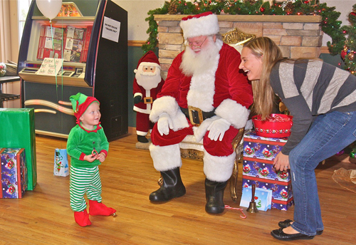 Aquebogue, Santa Claus, Riverhead Town