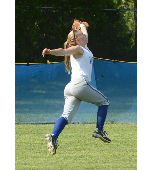 Softball: Riverhead's bats erupt in first-round playoff victory