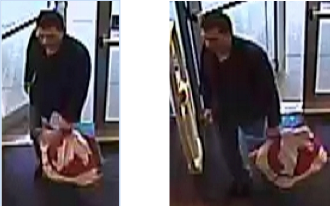 Police are searching for this man who they say stole 80 shirts.